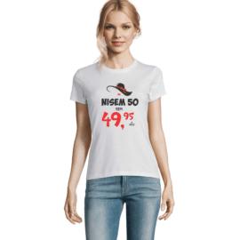Ženska majica s tiskom Nisem ?