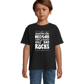 Otroška majica dad rocks
