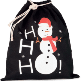 Vrečka s tiskom snežaka