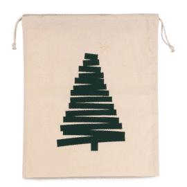 Vrečka s tiskom božičnega drevesa