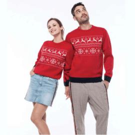 Unisex pulover jelen