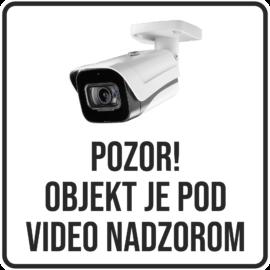 Nalepka Video nadzor
