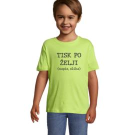 Otroška majica s tiskom po želji