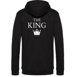 Moški pulover s kapuco The King